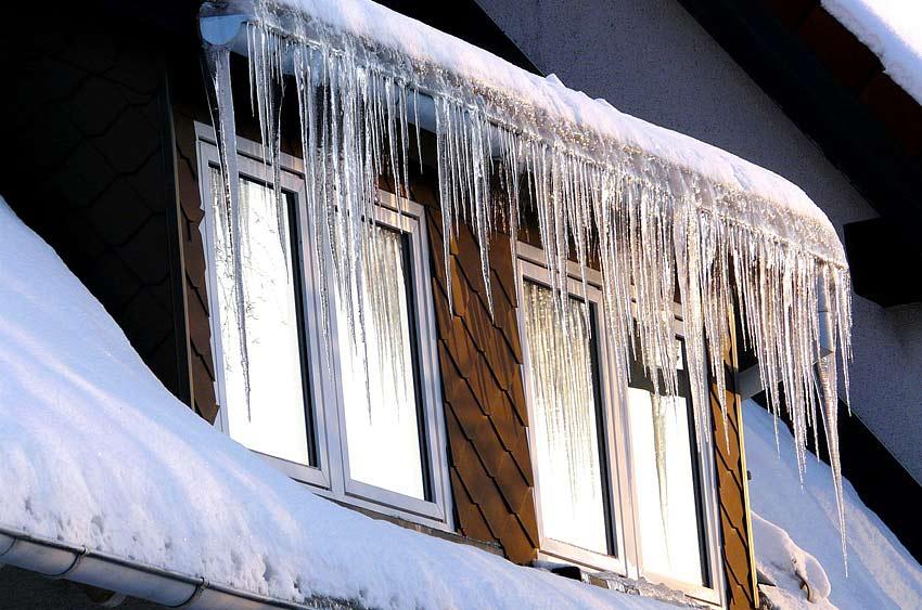 Winterfestes Dach